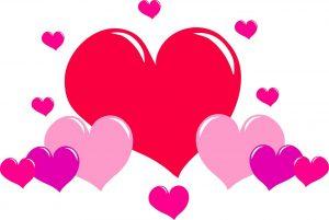 valentijnsdag hartjes