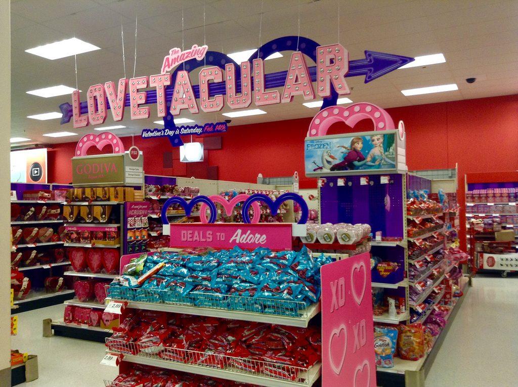 valentijnsdag shopping